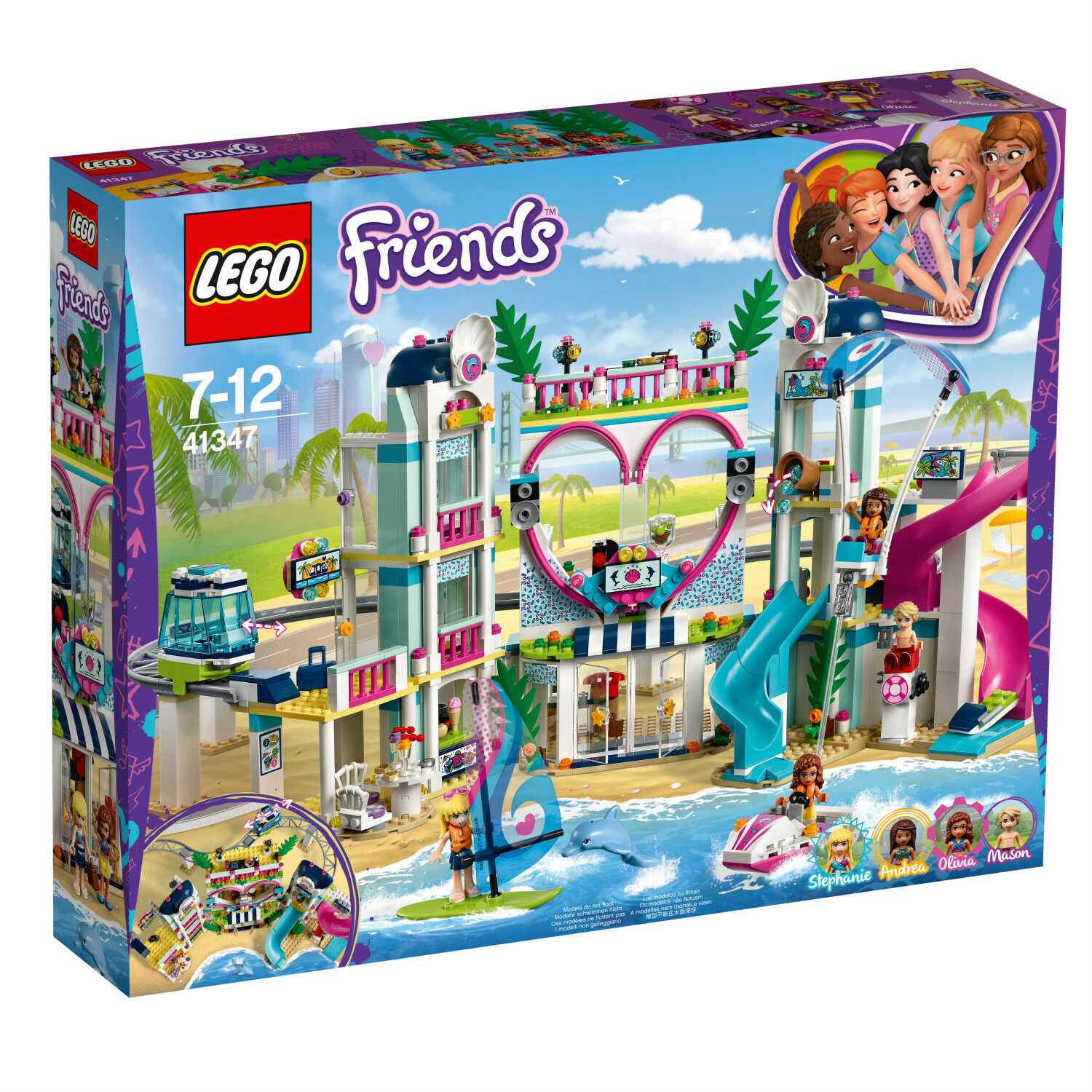 LEGO Friends 41347 Heartlake City Resort Le complexe complexe complexe touristique NEU N7 18 898790