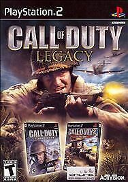 Call-of-Duty-Legacy-Finest-Hour-amp-Big-Red-One-Playstation-2-PS2