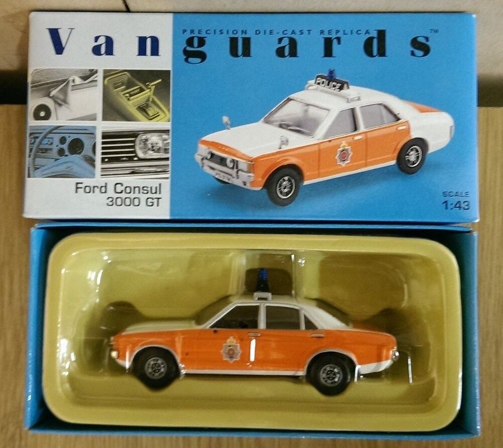 Corgi VA55000 Ford Consul 3000GT Lancashire Constabulary