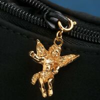 14 K Gold Plated Or Silver Plated Guardian Angel Zipper Pull In Package
