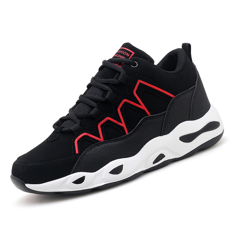 Men's Comfortable Sneakers Fashion Sports Black Running Casual Breathable Sports Fashion Shoes f812c2