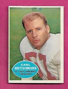 1960-TOPPS-109-CARDINALS-CARL-BRETTSCHNEIDER-NRMT-CARD-INV-C0486