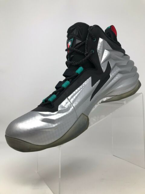official photos 22a34 8933b Nike Chuck Posite Charles Barkley Shoes Metallic Silver Foam 684758-001 12  for sale online   eBay