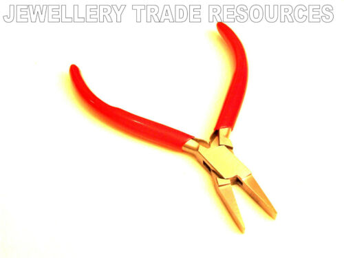 GOOD QUALITY FLAT NOSE JEWELLERS JEWELLERY MAKING PLIER PLIERS SMOOTH BEADING