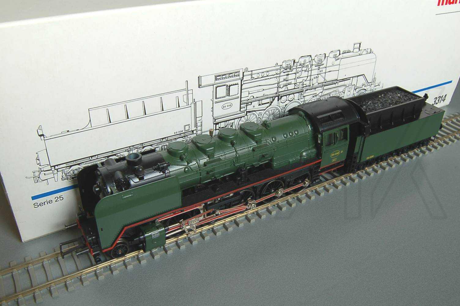 3314: serie 25  ex Br 50  della SNCB TOP + OVP