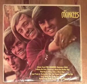 The-Monkees-The-Monkees-Vinyl-LP-Album-Mono-33rpm-1967-RCA-Victor-RD7844