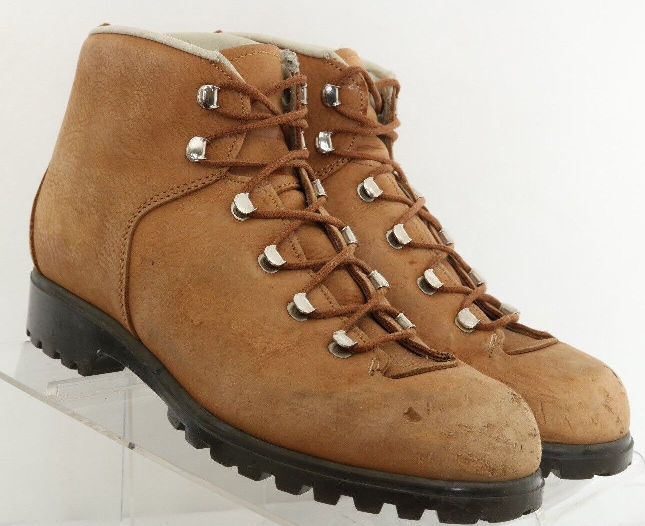 Raichle Vintage Brown Pebbled Mountaineering Ankle Boot 2266 Women's US 6
