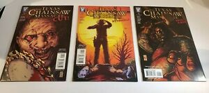 3-TEXAS-CHAINSAW-MASSACRE-Comic-Book-Lot-Cut-About-A-Boy-BY-Himself-Wildstorm