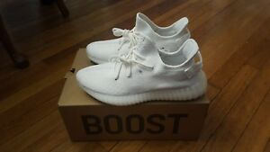 18f0a0e1038f8 ADIDAS YEEZY BOOST 350 V2 TRIPLE WHITE BRAND NEW CP9366 SIZE 9.5