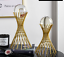 thumbnail 5 - For Sphere Crystal Balls Displays Gold Metal Base Stand Not include ball
