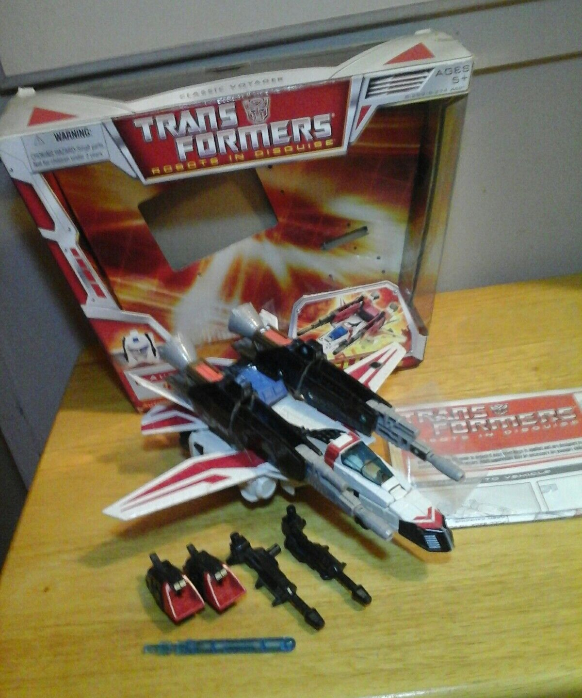 Transformers Rid JETFIRE  Hasbro Classics Chug Voyager w box & instructions