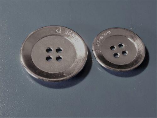GRAND BOUTONS par 4,5 2,2 cm métal libre 36 Différents ou 6 ST Verset 2,8 cm
