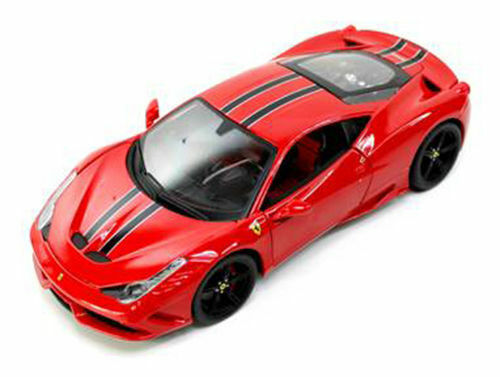Ebay Diecast Model Cars >> Ferrari 458 Red Speciale Signature Series 1 18 Diecast Model Car