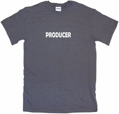 Producer Mens Tee Shirt Pick Size Color Small-6XL