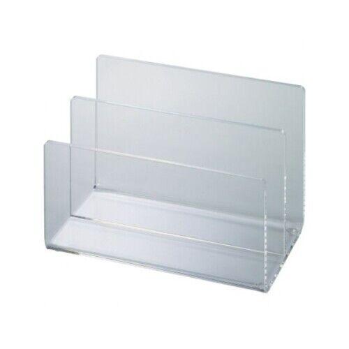 MAUL Kartenständer 15,3x10x9,9cm Acryl glasklar