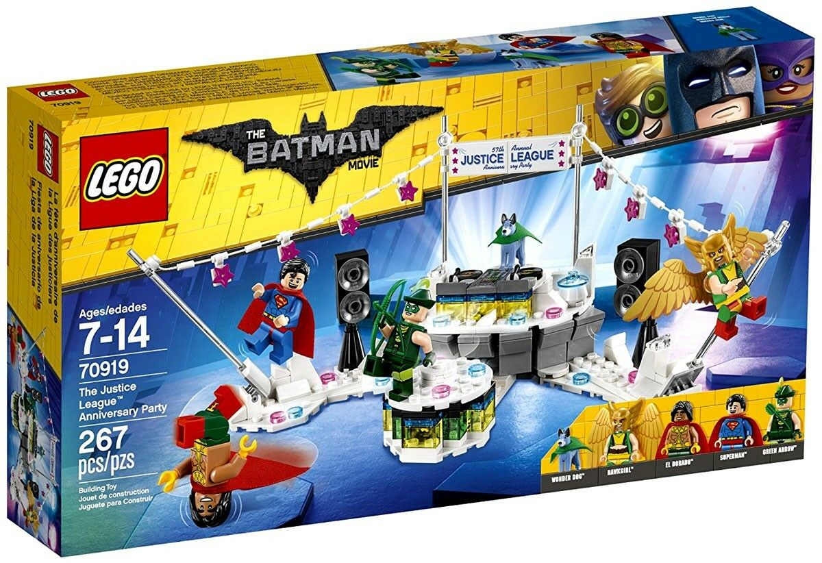 LEGO DC The Batman Movie The Justice League Anniversary Party Set