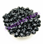 100-Pcs-8mm-Cross-Acrylic-Charm-Round-Spacer-Loose-Beads-Bracelet-Necklace thumbnail 2