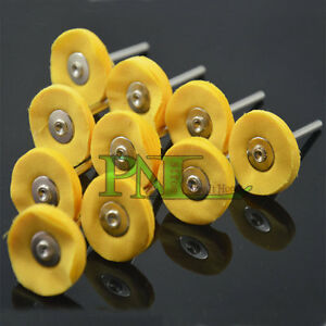 10PC-Cotton-Polishers-1-034-Buffing-Wheels-Fits-Rotary-Tool-Accessory