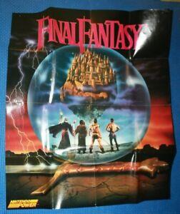 Nintendo Power Final Fantasy Code Name Viper Poster For Nes Ebay