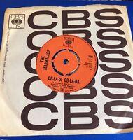 The Marmalade Ob-La-Di Ob-La-Da vinyl single