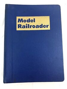 1961-Complete-Set-Twelve-Issues-MODEL-RAILROADER-magazines-in-Binder
