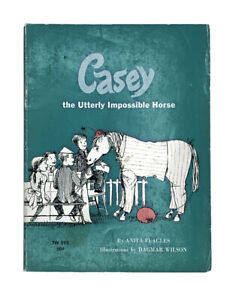 Casey the Utterly Impossible Horse Vintage 1968 Scholastic PB Illustrated TW393