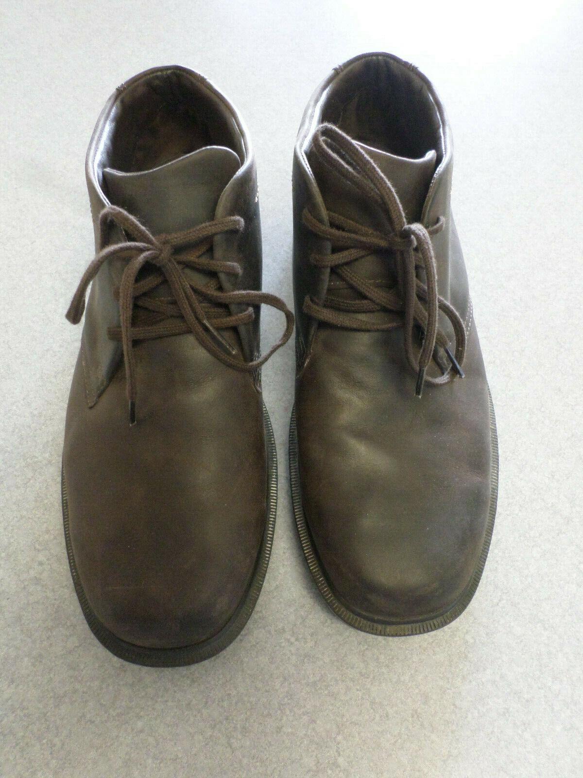 prodotto di qualità SAS  Statesman  dark Marrone leather, ankle stivali, stivali, stivali, Uomo 9 M made in USA  consegna veloce