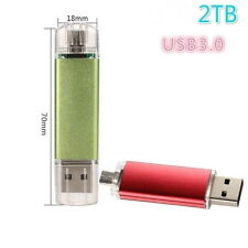 USB Flash Drive Memory  U Disk  Drive 2TB Pen drive smart phone (Size: 2tb)