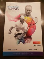 2018 Champions Tennis At The Royal Albert Hall Programme: Tennis: ATP Champions