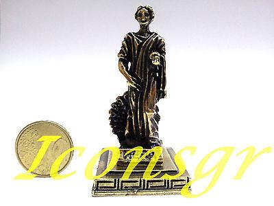 Ancient Statue Hera Queen Of God Greek Olympian God Miniature Sculpture Zamac  C