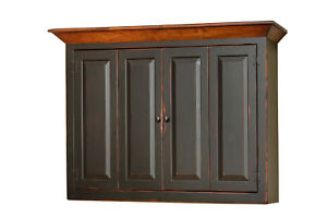 Image Is Loading Amish Made Flat Screen TV Wall Mount Cabinet