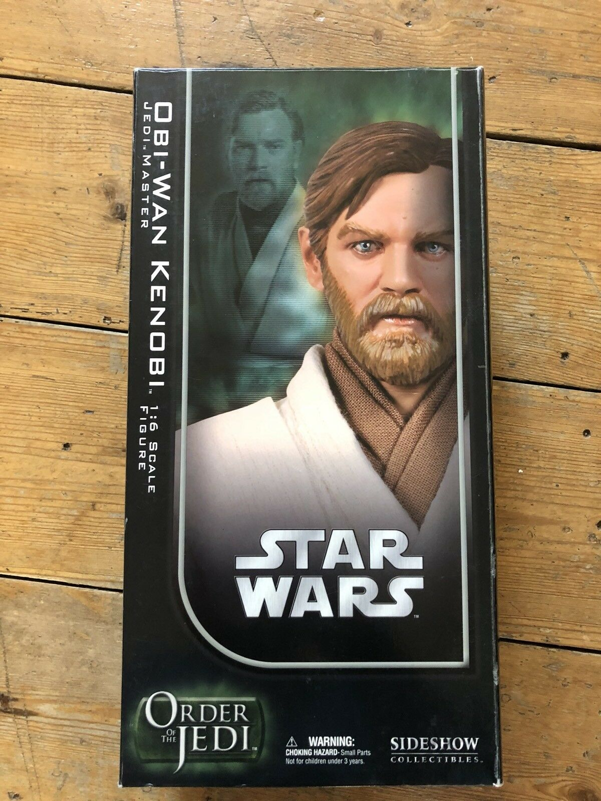 Sideshow Star Wars ordine dei Jedi Obi Wan Kenobi Jedi Master afssc 1033
