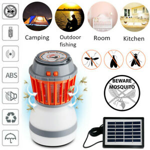 UV-Solar-LED-Electric-Fly-Trap-Zapper-Insect-Bug-Pest-Mosquito-Killer-Night-Lamp