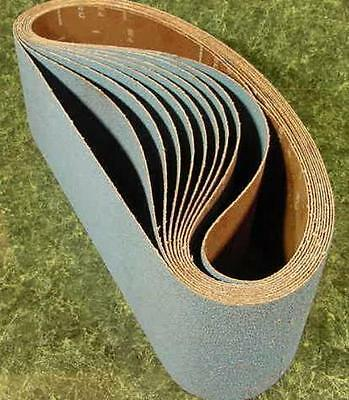 """10pc 6 """" X  48 """" 240 GRIT SANDING BELT Silicon Carbide USA sand paper butt joint"""