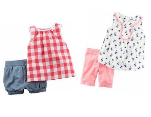 9 Months NEW//NWT Carter/'s Baby 4-Piece Shirt and Short Set