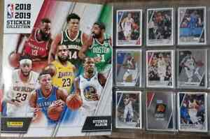 NBA-Basketball-Panini-2018-19-Album-complete-set-Luka-Doncic-Rookie-RC