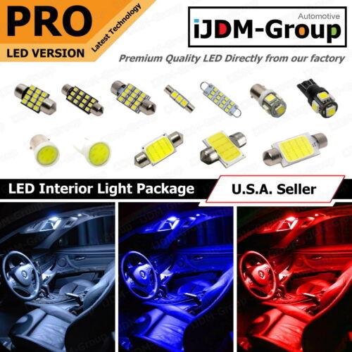8 PCS LED Lights For 2008 2009 2010 2011 Dodge Nitro Kit Interior Package WHITE