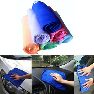 10Pcs Absorbent Car Wash Towel Home Kitchen Washing Clean Wash Cloth