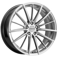 New Listing4 Vision 473 Axis 18x8 5x120 38mm Silver Wheels Rims 18 Inch Fits Range Rover