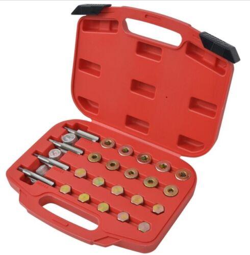 Kit rifilettatore//riparazione//filettatura tappo//coppa di scarico dell/'olio 64pz