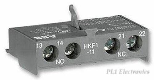 ABB   HKF1-11   CONTACT BLOCK,AUX,FRNT,1NO1NC