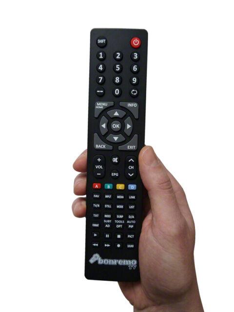 BC56954B Ersatzfernbedienung passend für TELEFUNKEN L28H275N4 LCD//LED-TV