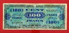 (Ref: X.021 )  100 FRANCS FRANCE TYPE 1945 SÉRIE X (TTB)  RARE