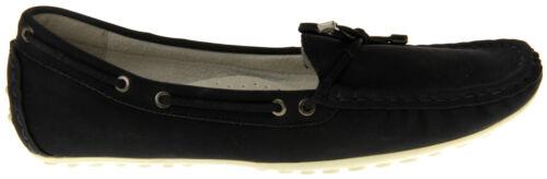 Womens Ladies Keddo Slip On Slip Resistant Boat Deck Shoes Size 3 4 5 6 7 8