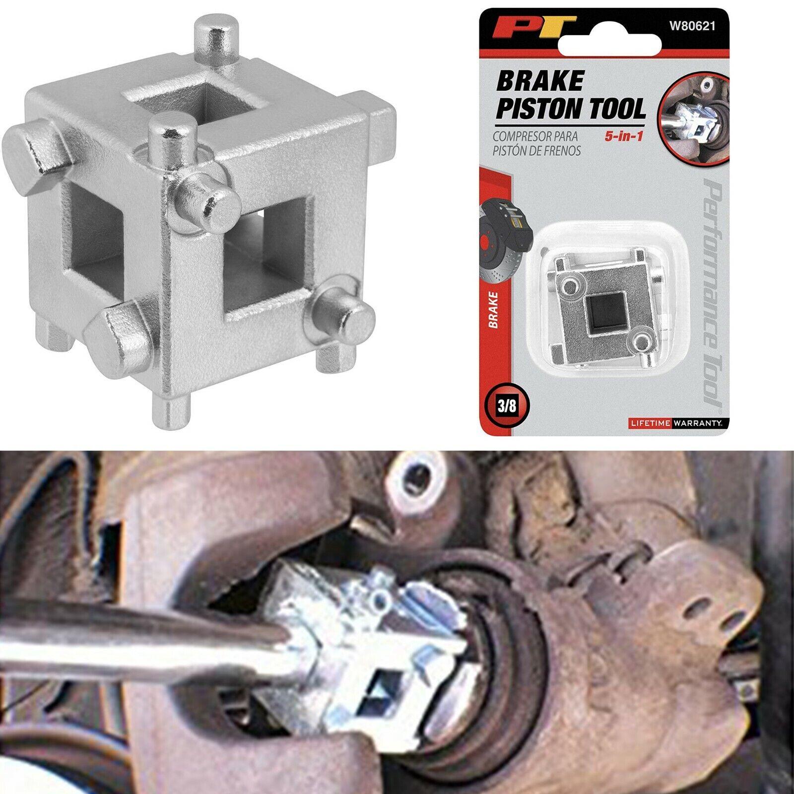 "Performance Tool Part # W80621 Disc Brake Piston Tool 3//8/"" Square Drive"