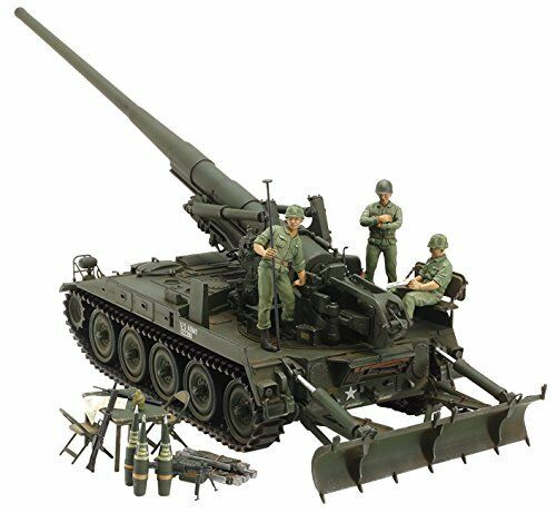 Tamiya 1 35 Italeri series No.21 US Army self-propelled cannon M107 Vietnam