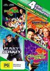 Funky Monkey / Looney Tunes - Back In Action / Osmosis Jones / Space Jam (DVD, 2012, 4-Disc Set)