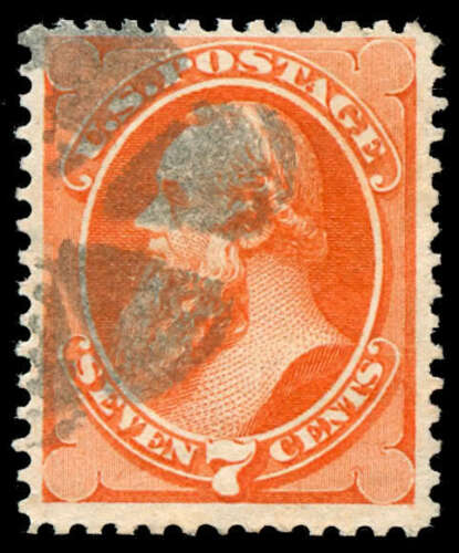 momen US Stamps #160 Used Weiss TRW14 NYFM Cancel