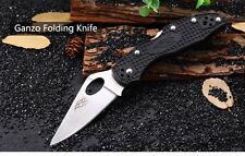 Ganzo Firebird F759M BLACK -  Back Lock Folding Knife - PROMOTION