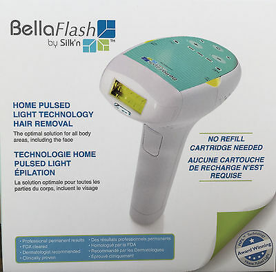 Brand New! BellaFlash HPL Hair Removal System by Silk'n